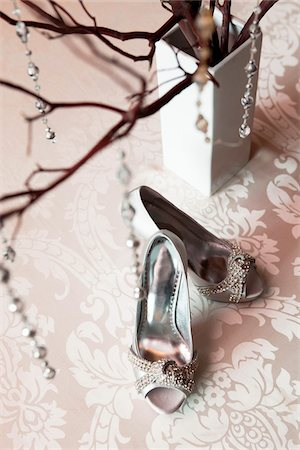 Silver Shoes Stock Photo - Rights-Managed, Code: 700-05948277