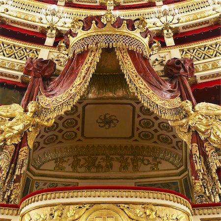 decorative - Teatro di San Carlo, Naples, Campania, Italy Stock Photo - Rights-Managed, Code: 700-05974038