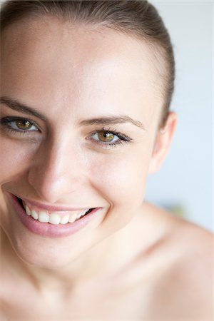 Close-Up of Woman Stock Photo - Rights-Managed, Code: 700-05974055