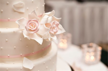 Close-Up of Wedding Cake Stock Photo - Rights-Managed, Code: 700-05973600
