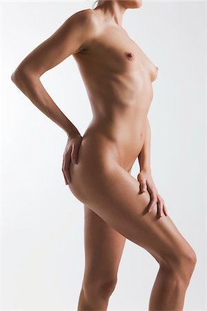 Nude Woman in Studio Stock Photo - Rights-Managed, Code: 700-05973898