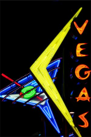 Neon Sign, Laughlin, Las Vegas, Nevada, USA Stock Photo - Rights-Managed, Code: 700-05973956