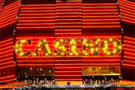 Fremont Hotel & Casino, Fremont Street, Las Vegas, Nevada, USA Stock Photo - Rights-Managed, Code: 700-05973957
