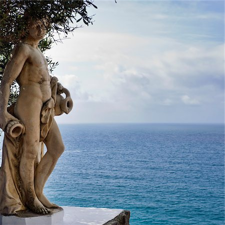 Statue at Thermal Park, Ischia, Campania, Italy Stock Photo - Rights-Managed, Code: 700-06009157