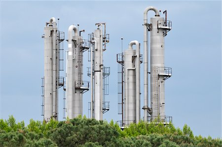Chemical Plant, Saint-Gilles, Camargue, France Stock Photo - Rights-Managed, Code: 700-06025191