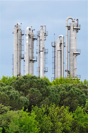 refinery - Processing Plant, Saint-Gilles, Camargue, France Stock Photo - Rights-Managed, Code: 700-06025192