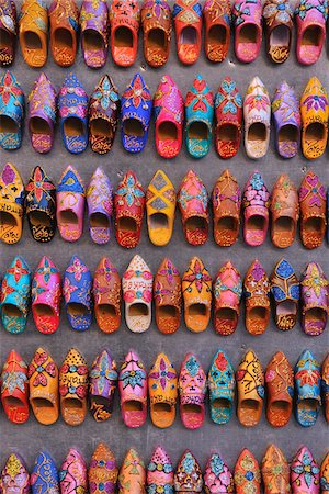 Miniature Shoes in Shop, Marrakech, Morocco Stock Photo - Rights-Managed, Code: 700-06037984