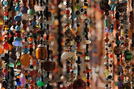 Close-Up of Jewelry in Souk, Marrakech, Morocco Stock Photo - Rights-Managed, Code: 700-06038016