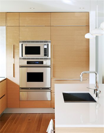 Modern Kitchen Stock Photo - Rights-Managed, Code: 700-06038234