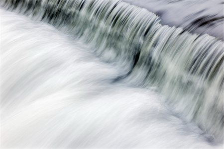 flowing - Close-Up of Fast Flowing Waterfall Stock Photo - Rights-Managed, Code: 700-06059802