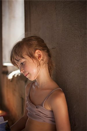 Sweaty Young Girl Stock Photo - Rights-Managed, Code: 700-06199244