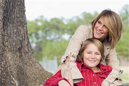 Portrait of Mother and Son Stock Photo - Rights-Managed, Code: 700-06282093