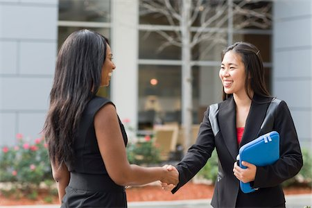 Businesswomen Shaking Hands Stock Photo - Rights-Managed, Code: 700-06282111
