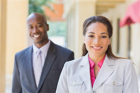 partnership - Portrait of Business People Stock Photo - Rights-Managed, Code: 700-06282125