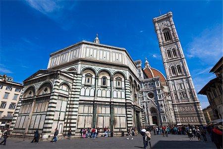 Basilica di Santa Maria del Fiore, Florence, Tuscany, Italy Stock Photo - Rights-Managed, Code: 700-06334678