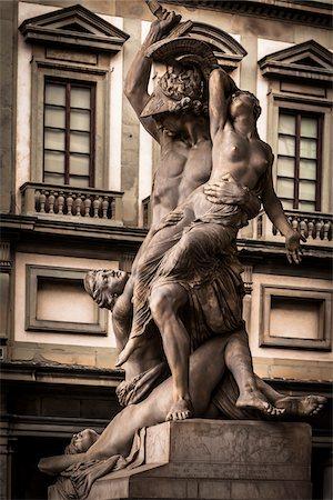 Statue in Loggia dei Lanzi, Piazza della Signoria, Florence, Italy Stock Photo - Rights-Managed, Code: 700-06334673