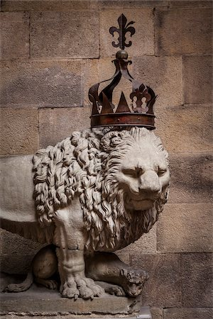 Lion Statue, Bargello Museum, Florence, Tuscany, Italy Stock Photo - Rights-Managed, Code: 700-06334703