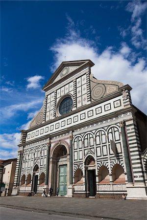Basilica of Santa Maria Novella, Florence, Tuscany, Italy Stock Photo - Rights-Managed, Code: 700-06334727