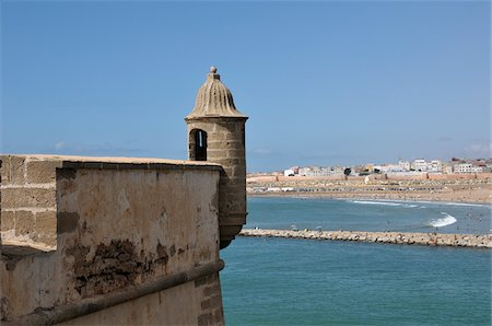 Kasbah of the Udayas, Rabat, Morocco Stock Photo - Rights-Managed, Code: 700-06355146