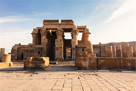 egypt - Temple of Kom Ombo, Kom Ombo, Aswan Governorate, Egypt Stock Photo - Rights-Managed, Code: 700-06355310
