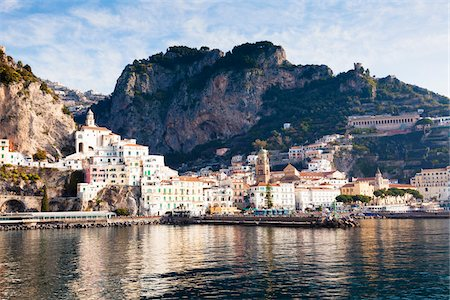Amalfi, Province of Salerno, Campania, Italy Stock Photo - Rights-Managed, Code: 700-06355347