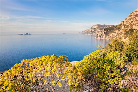 Amalfi Coast in Springtime, Province of Salerno, Campania, Italy Stock Photo - Rights-Managed, Code: 700-06355340