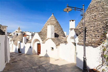 Trulli Houses, Alberobello, Province of Bari, Puglia, Italy Stock Photo - Rights-Managed, Code: 700-06355358