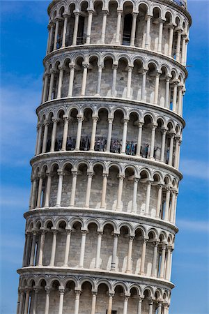 The Leaning Tower of Pisa, Tuscany, Italy Stock Photo - Rights-Managed, Code: 700-06367817