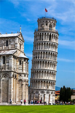 Leaning Tower of Pisa, Tuscany, Italy Stock Photo - Rights-Managed, Code: 700-06367813