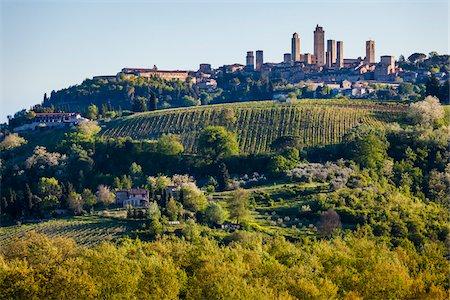 San Gimignano, Siena Province, Tuscany, Italy Stock Photo - Rights-Managed, Code: 700-06367895