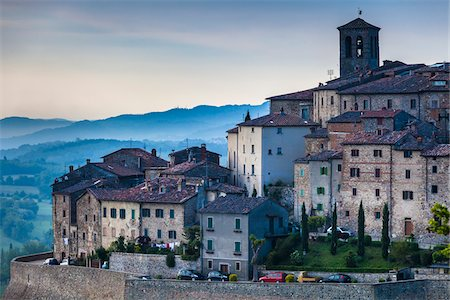 Anghiari, Tuscany, Italy Stock Photo - Rights-Managed, Code: 700-06368000