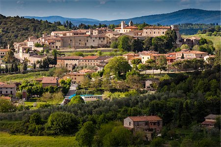 quaint - Trequanda, Province of Siena, Tuscany, Italy Stock Photo - Rights-Managed, Code: 700-06368151