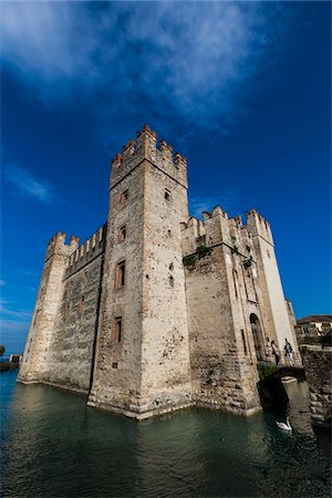Scaliger Castle, Sirmione, Brescia, Lombardy, Italy Stock Photo - Rights-Managed, Code: 700-06368185