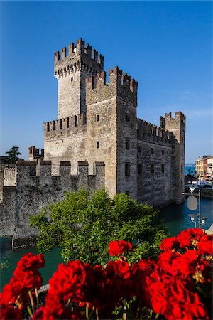 Scaliger Castle, Sirmione, Brescia, Lombardy, Italy Stock Photo - Rights-Managed, Code: 700-06368183
