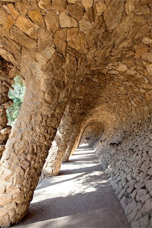 pillar - Park Guell, Barcelona, Spain Stock Photo - Rights-Managed, Code: 700-06383679