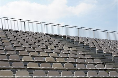 empty - Stade vide Photographie de stock - Rights-Managed, Code: 700-06397715