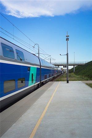 platform - TGV Train Arriving at Platform of Valence Station, Valence, Drome Department, France Stock Photo - Rights-Managed, Code: 700-06452151