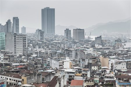 View of Macau. Stock Photo - Rights-Managed, Code: 700-06452175