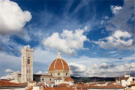 Skyline, Florence, Tuscany, Italy Stock Photo - Rights-Managed, Code: 700-06465402
