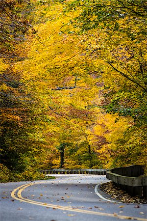 Winding Country Road, Smugglers Notch, Lamoille County, Vermont, USA Stock Photo - Rights-Managed, Code: 700-06465609
