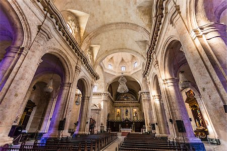 Interior of Cathedral of Havana, Havana, Cuba Stock Photo - Rights-Managed, Code: 700-06465927