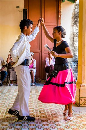 Young Dancers Performing at Club Amigos Social Dancing Event, Trinidad, Cuba Stock Photo - Rights-Managed, Code: 700-06465986