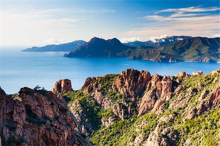 Calanques de Piana, Corsica, France Stock Photo - Rights-Managed, Code: 700-06531554