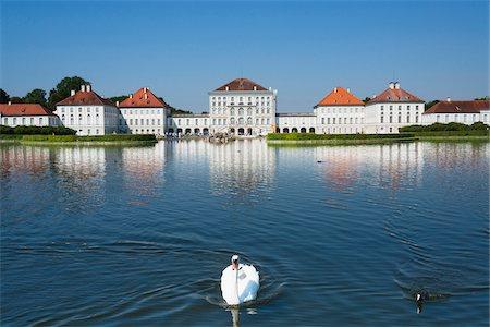Germany, Bavaria, Oberbayern, Munich, München, Nymphenburg Palace Stock Photo - Rights-Managed, Code: 700-06531683