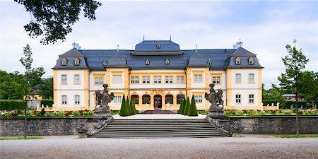 Veitshochheim Castle, Wurzburg, Lower Franconia, Bavaria, Germany Stock Photo - Rights-Managed, Code: 700-06553357