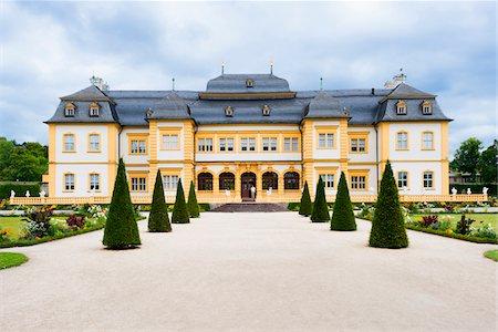 Veitshochheim Castle, Wurzburg, Lower Franconia, Bavaria, Germany Stock Photo - Rights-Managed, Code: 700-06553358