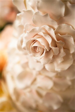 rose - Close-Up of Sugar Flower on Cake Stock Photo - Rights-Managed, Code: 700-06669617