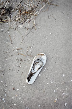 Single Lost Shoe on Beach Stock Photo - Rights-Managed, Code: 700-06679352