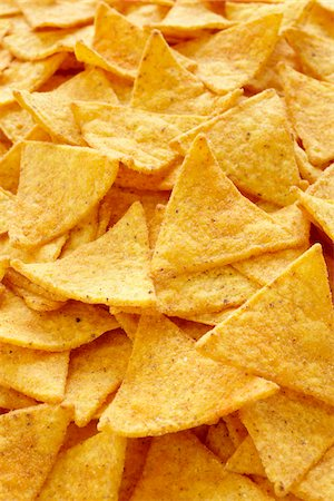 spicy - Close-Up of Tortilla Chips (full frame) Stock Photo - Rights-Managed, Code: 700-06714075