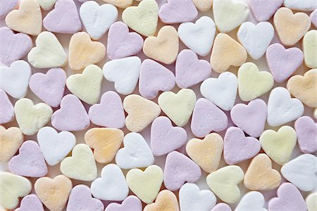 still life of candy hearts Stock Photo - Rights-Managed, Code: 700-06714124